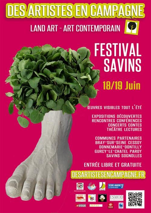 Festival de Land'Art de Savins – édition 2016