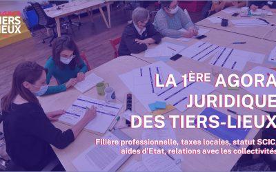 Agora juridique France Tiers Lieux