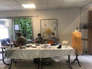Couture et peinture